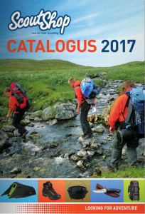 ScoutShop catalogus 2017
