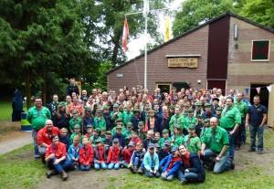 Onze groepsfoto van 2015 (70-jarig jubileum)