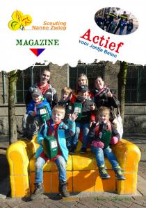 Voorblad Scouting Nanne Zwiep Magazine, 1e jaargang, nummer 1