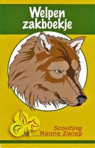 Welpenzakboekje Scouting Nanne Zwiep