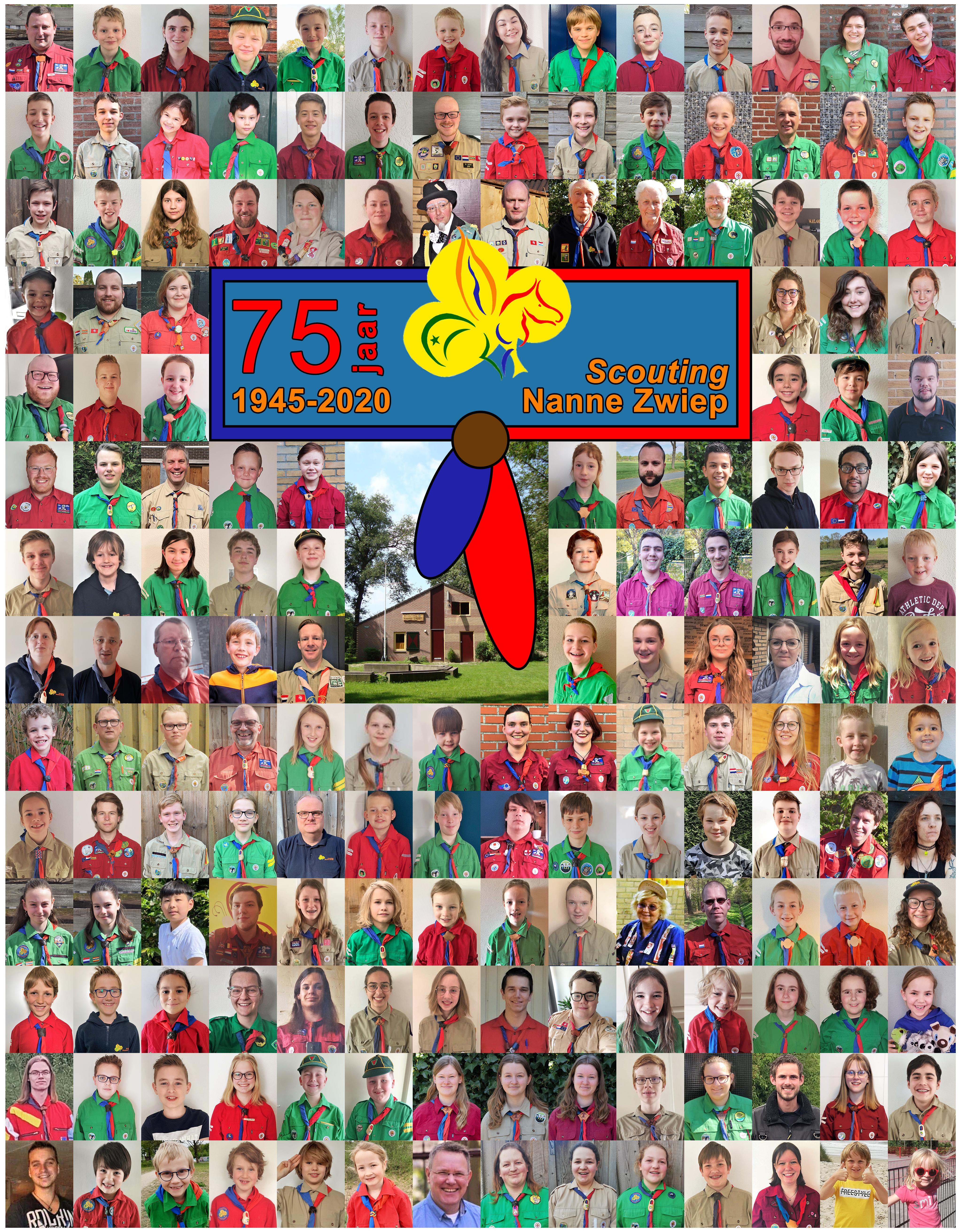Jubileum groepsfoto 1 mei 2020