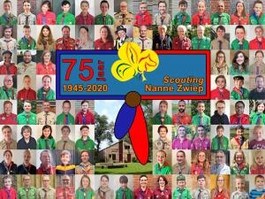 75-jarig jubileum groepsfoto 1 mei 2020