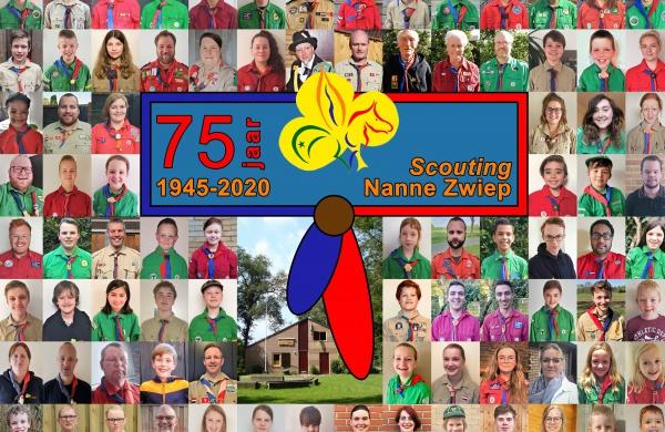 Jubileum groepsfoto 2020