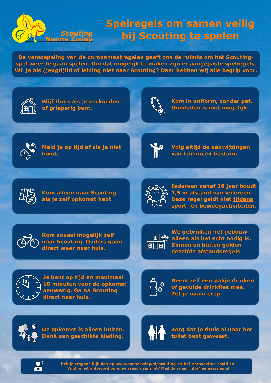 Spelregels voor een veilig Scoutingspel voor leden